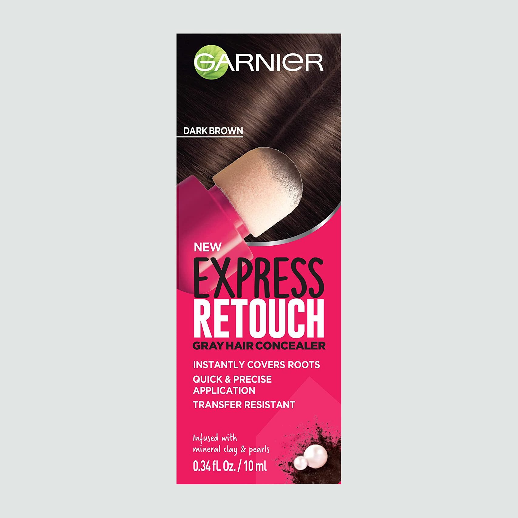 Best bang for your buck: Garnier Express Retouch Gray Hair Concealer