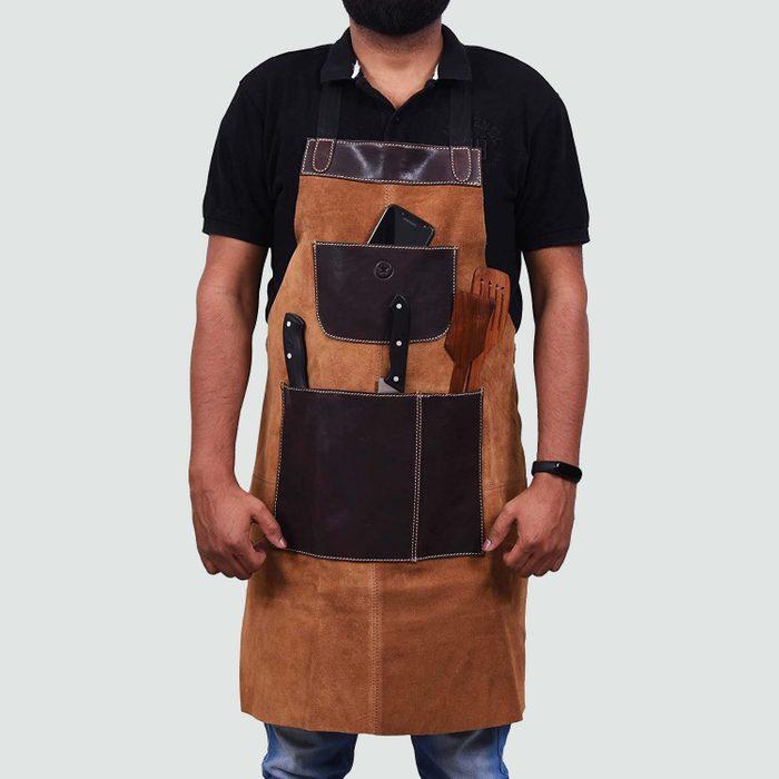 Aaron Leather Multi-Use Shop Apron