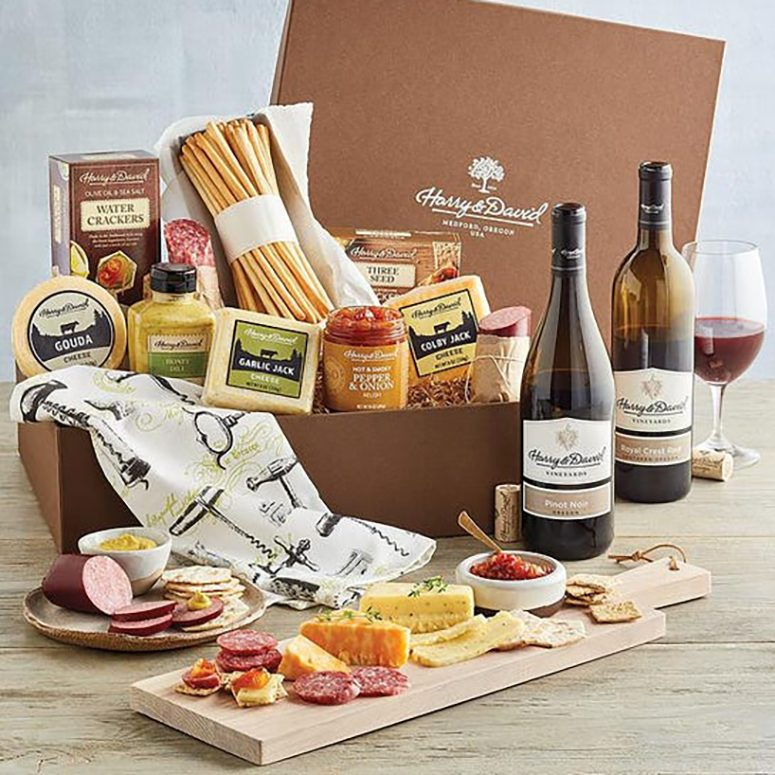 Harry & David Meat, Cheese, and Wine Gift Box