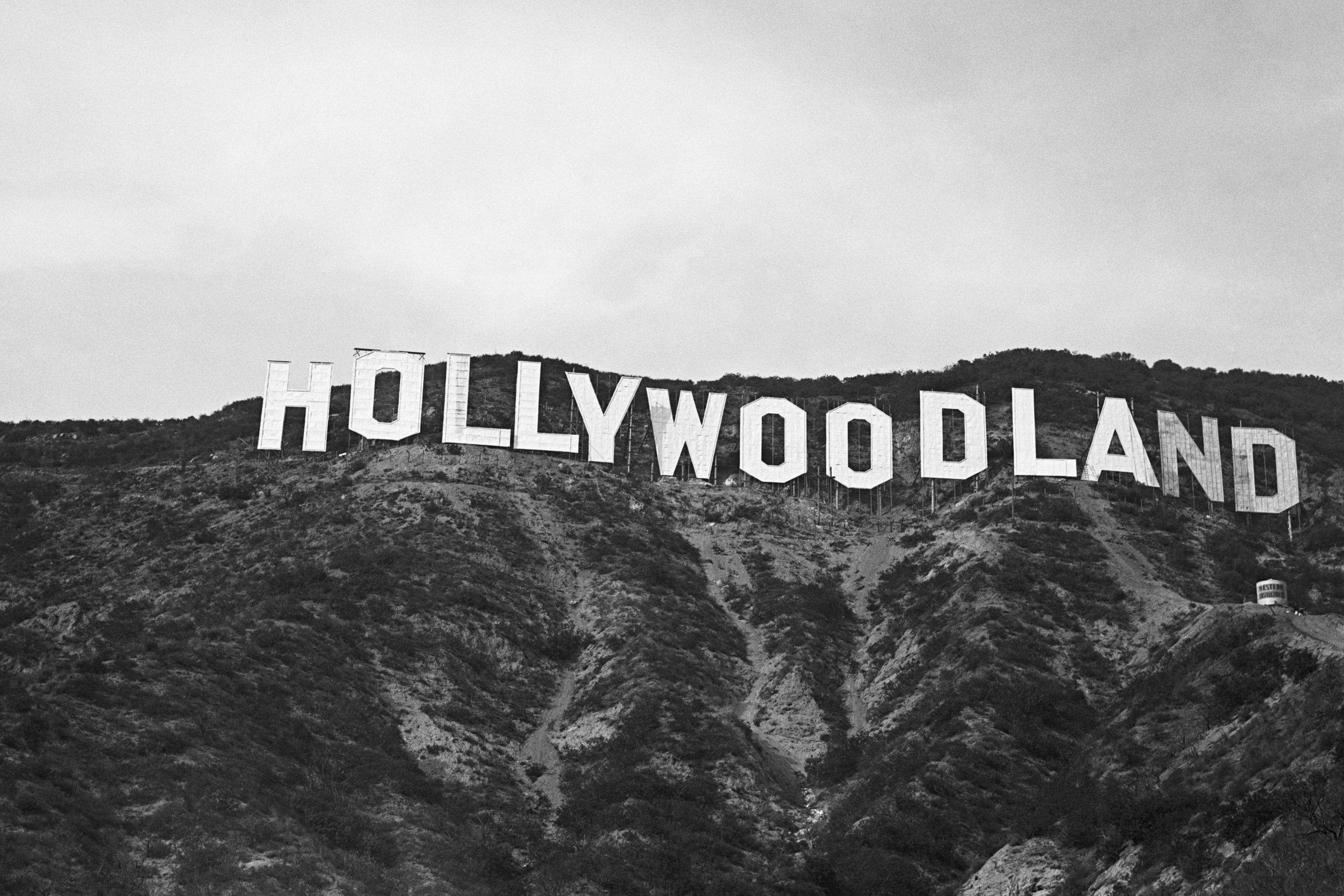 """Hollywoodland"" Sign"