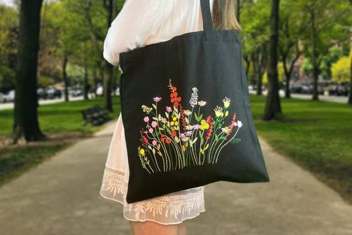 flower bag for mothers day
