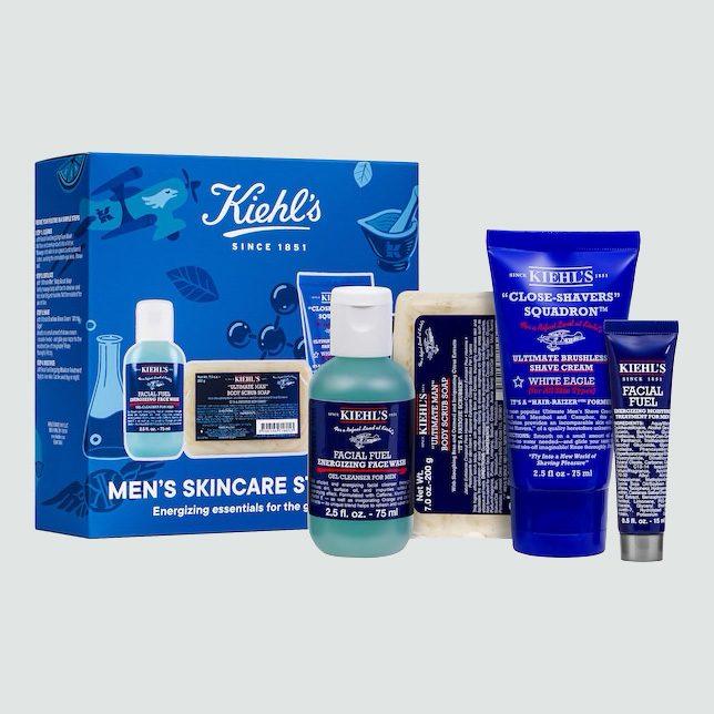 Kiehl's Men's Skincare Starter Kit, $39