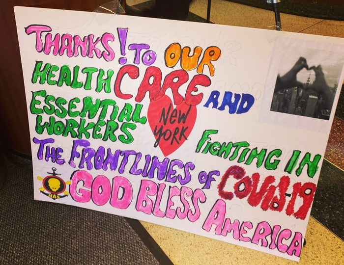 thank you nurses thank you healthcare workers covid19
