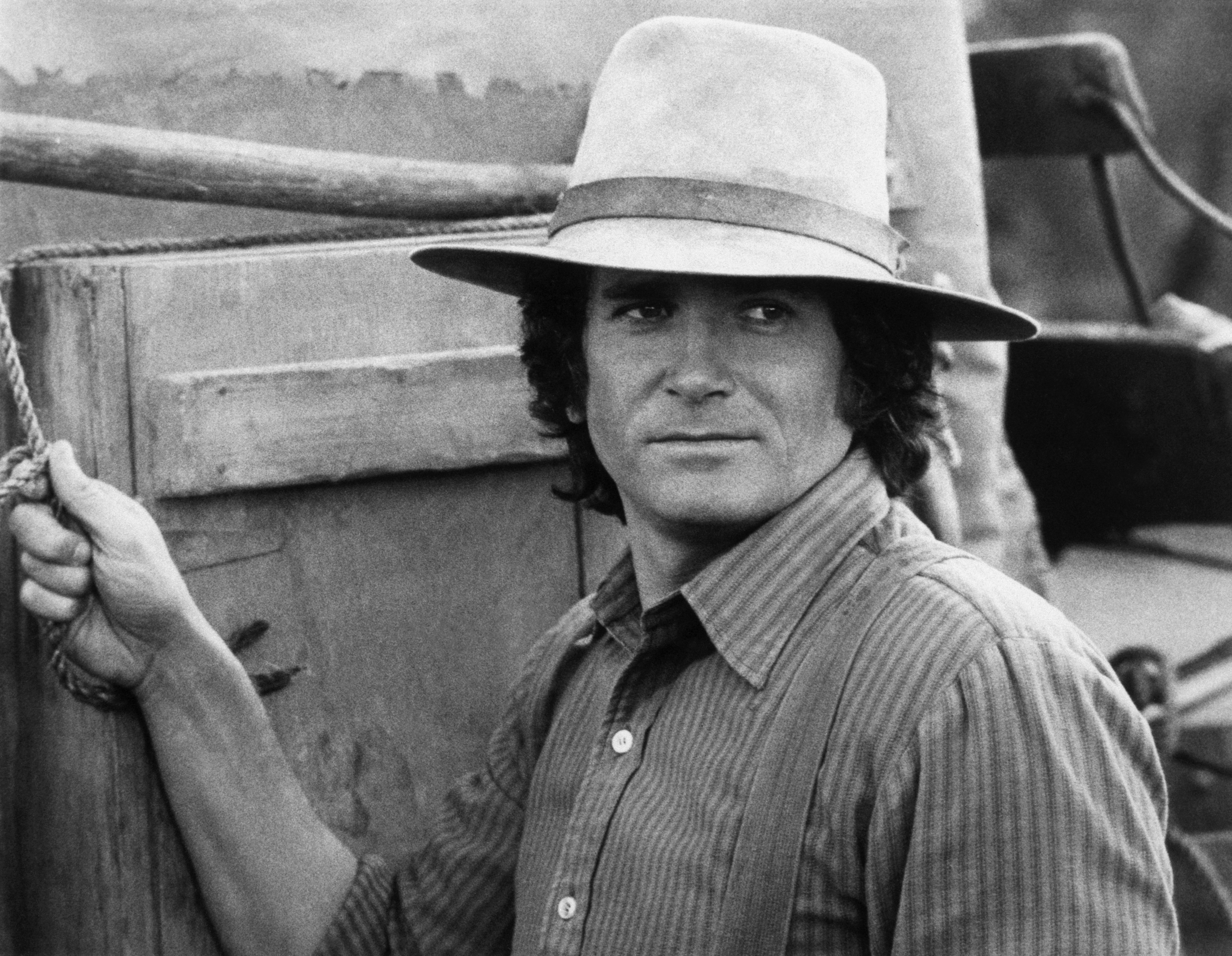 "Michael Landon on ""Little House on the Prairie"""