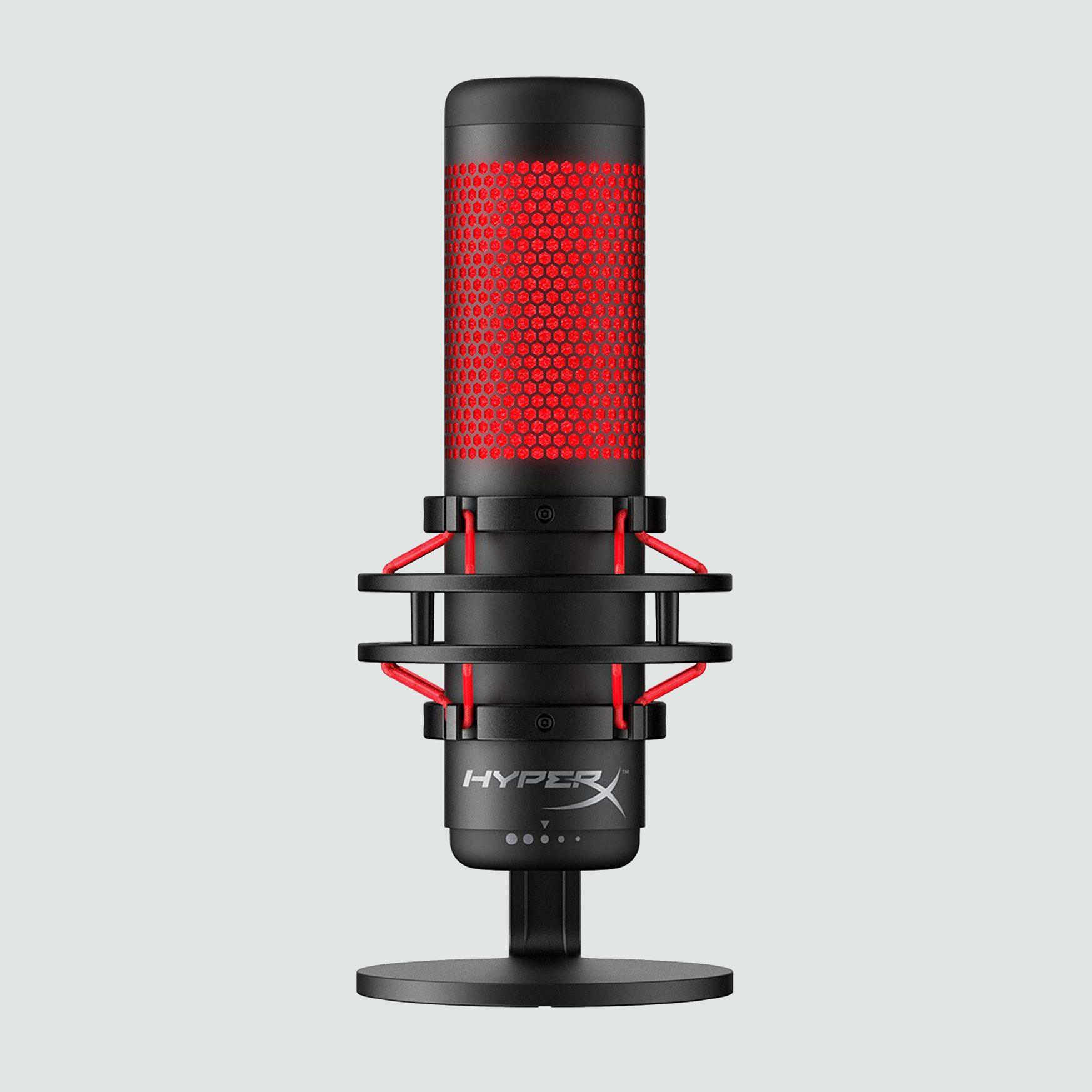 HyperX QuadCast USB Condenser Microphone