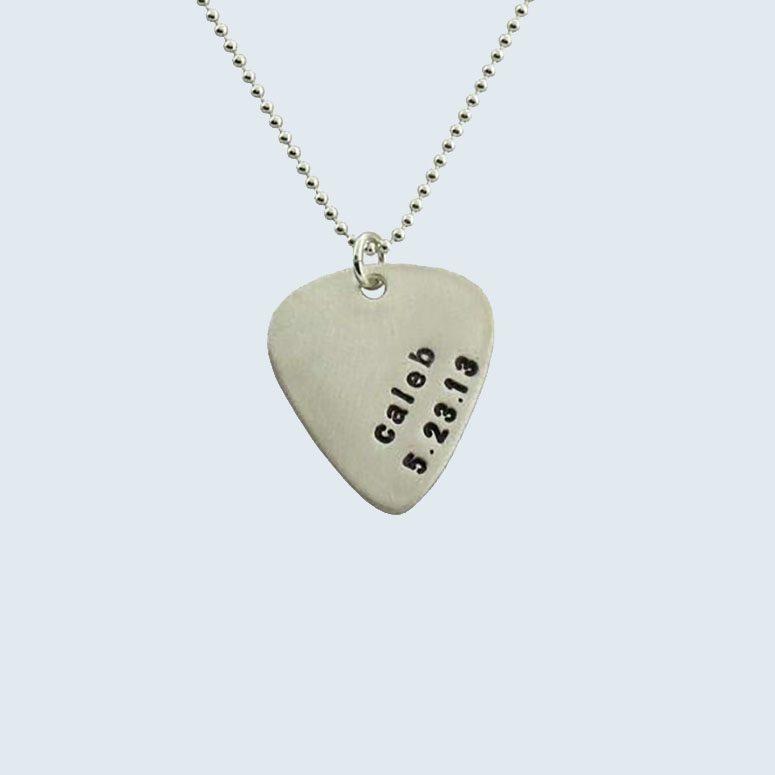 Isabelle Grace Guitar Pick Necklace
