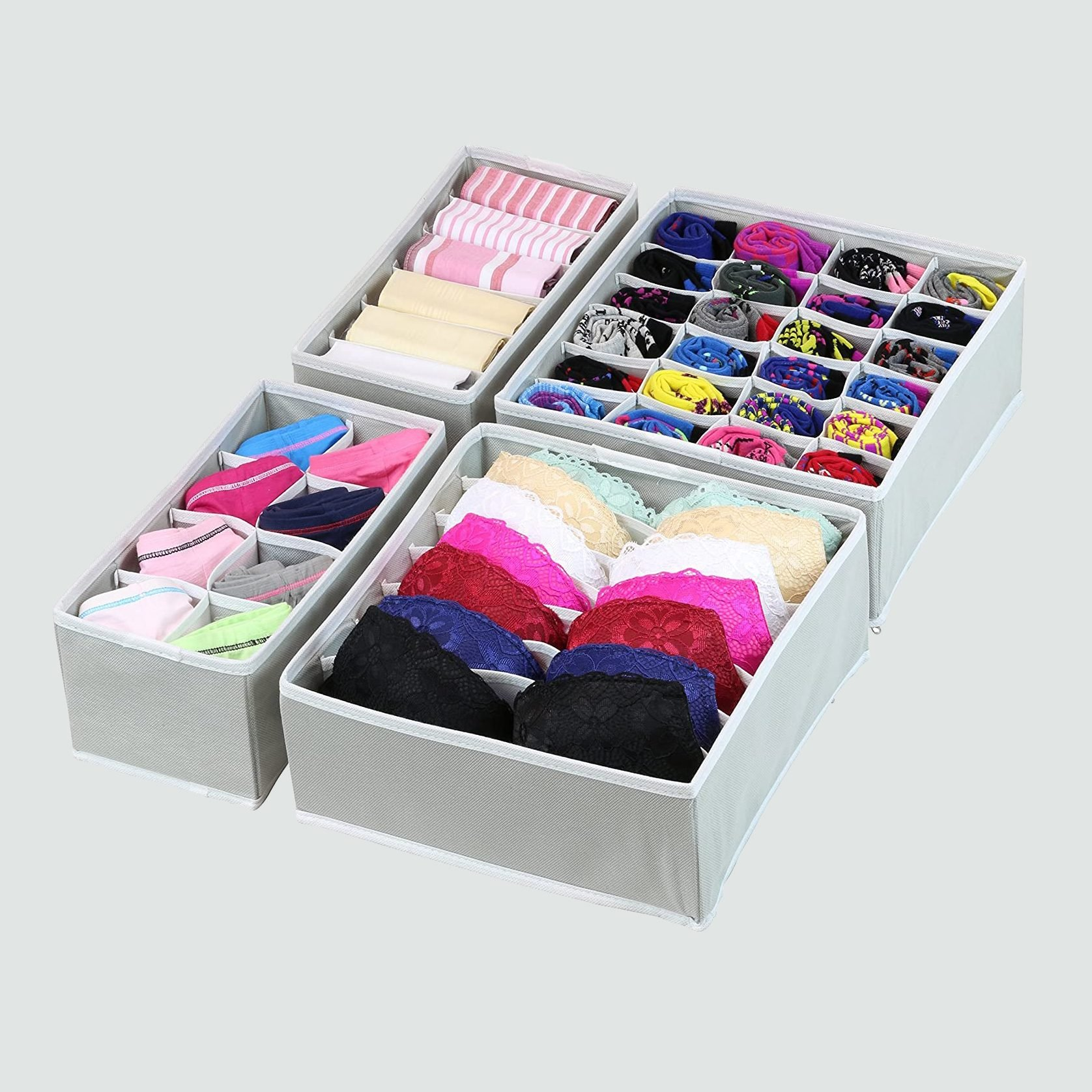 Simple Houseware underwear and lingerie organizers