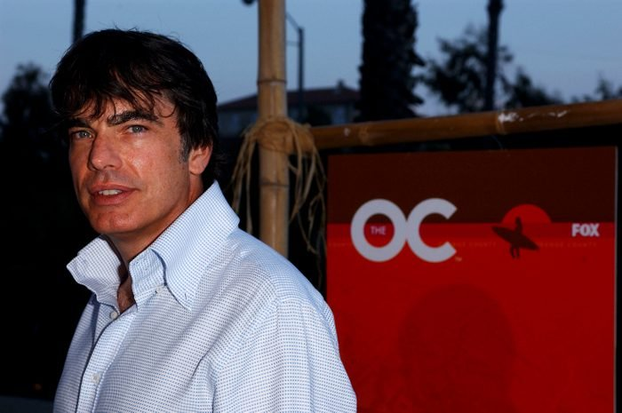 """Peter Gallagher at """"The O.C."""" kickoff party"""