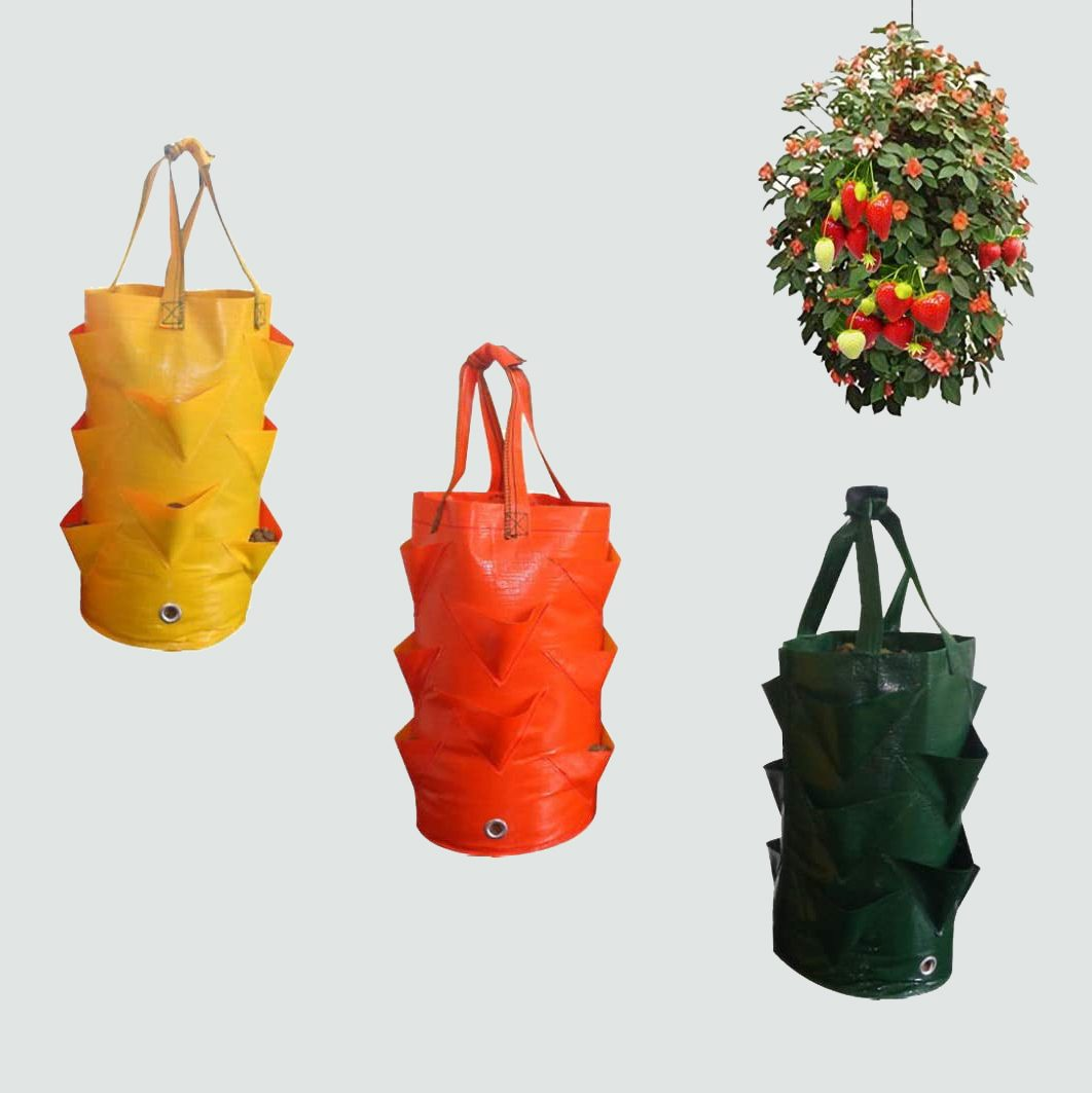 SuperThinker Three Pack of Planter Bags