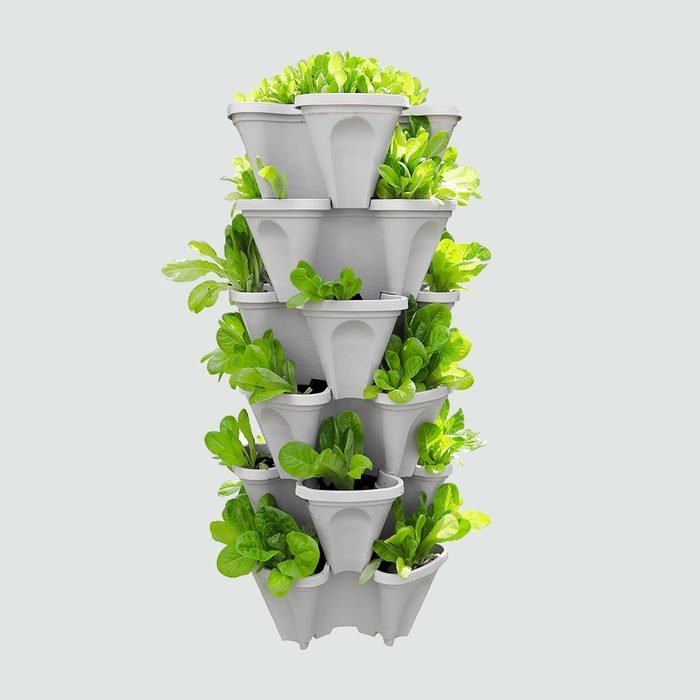 Five-Tier Strawberry and Herb Planter