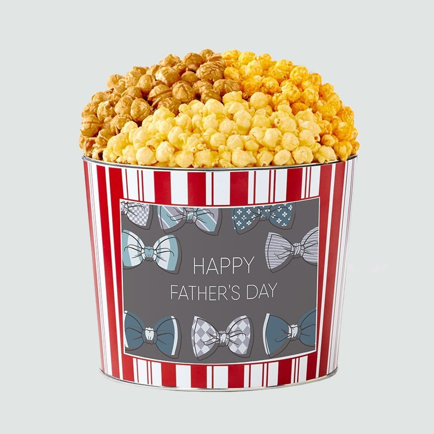 The Popcorn Factory Tins with Pop