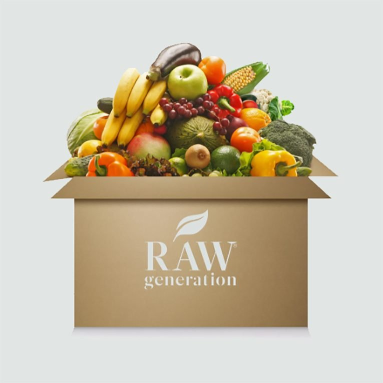 raw generation produce box
