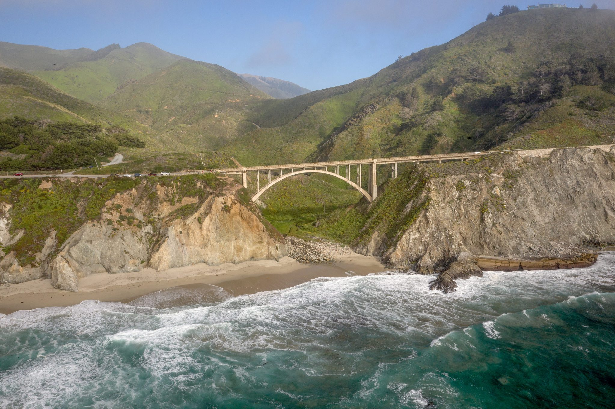 Rocky Creek Bridge - Big Sur, CA