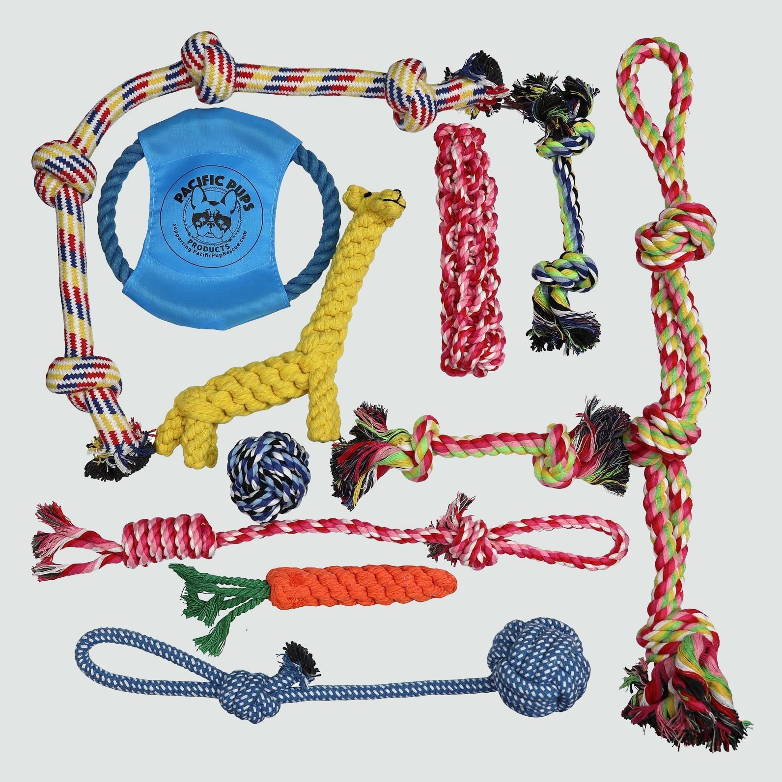 Pacific Pups Rescue Assorted Rope Toys