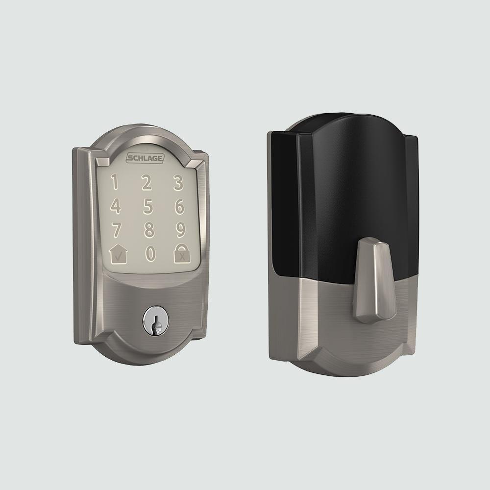 Schlage Camelot Encode Smart Wifi Door Lock with Alarm