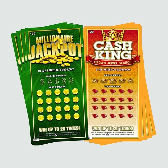 Fake Lotto Tickets