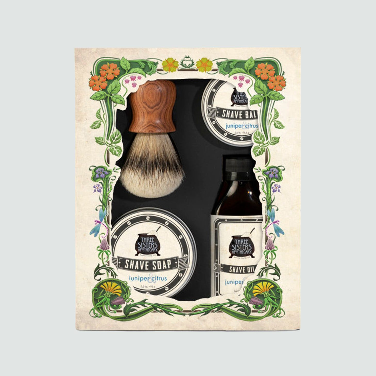 Three Sisters Shave Luxury Boxed Gift Set
