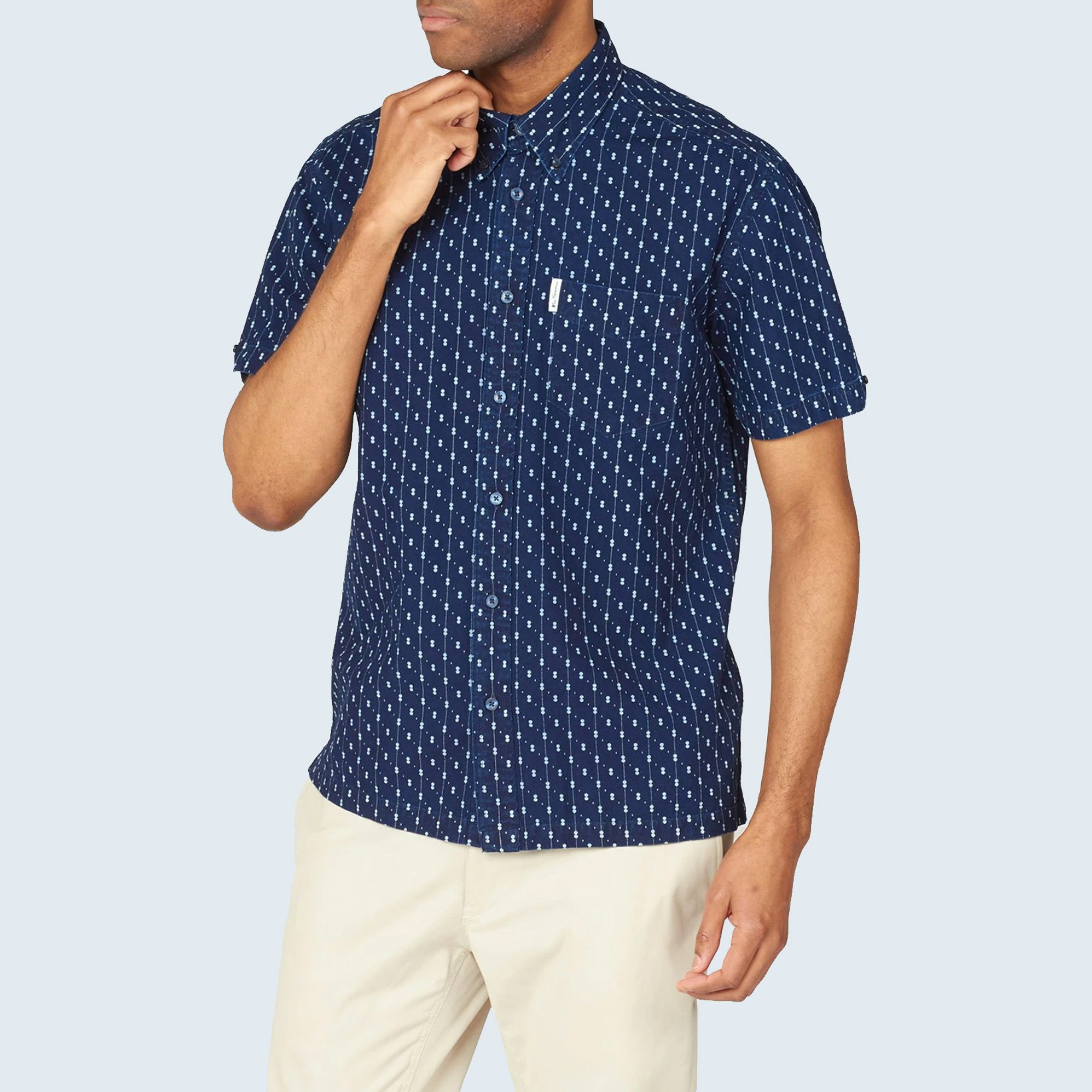 Ben Sherman Archive Indigo Short-Sleeve Shirt