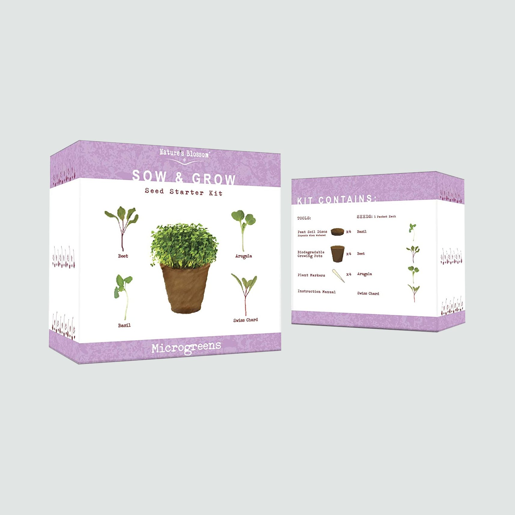 Nature's Blossom Microgreen Sprouting Kit