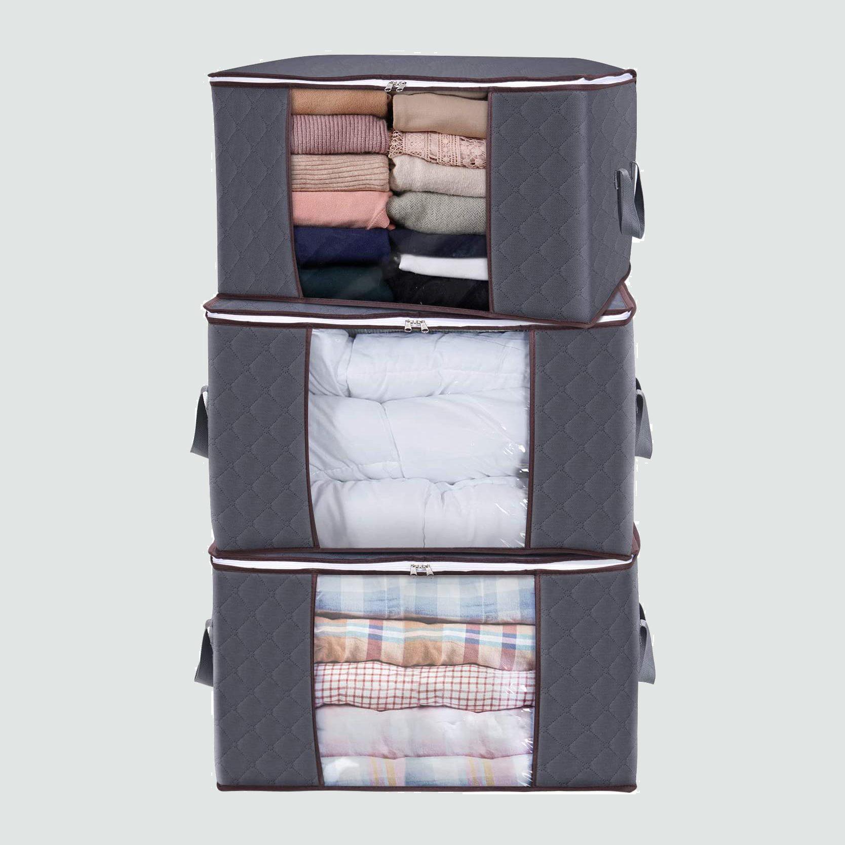 Lifewit linen closet storage bags