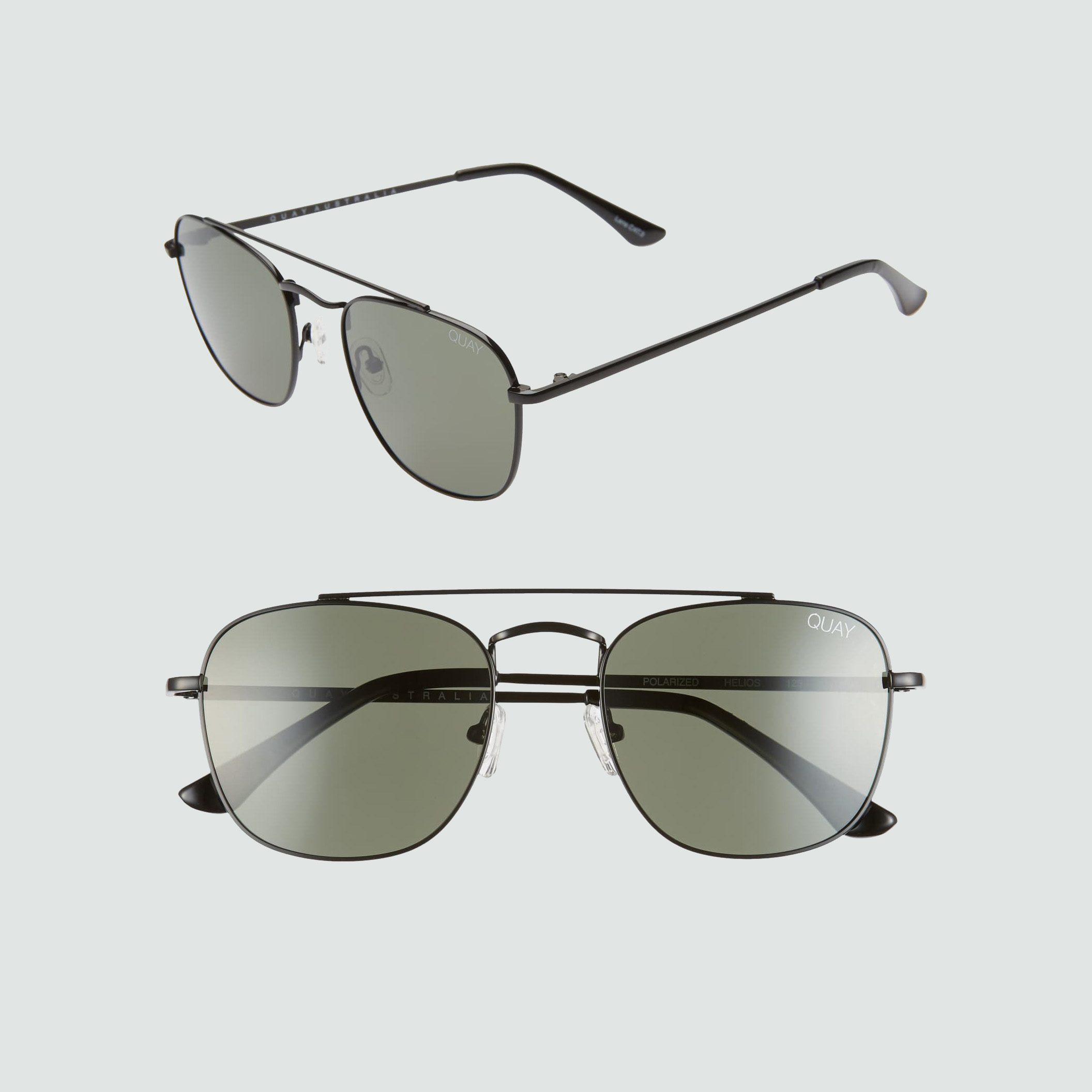 Quay Australia Helios 54mm Navigator Sunglasses