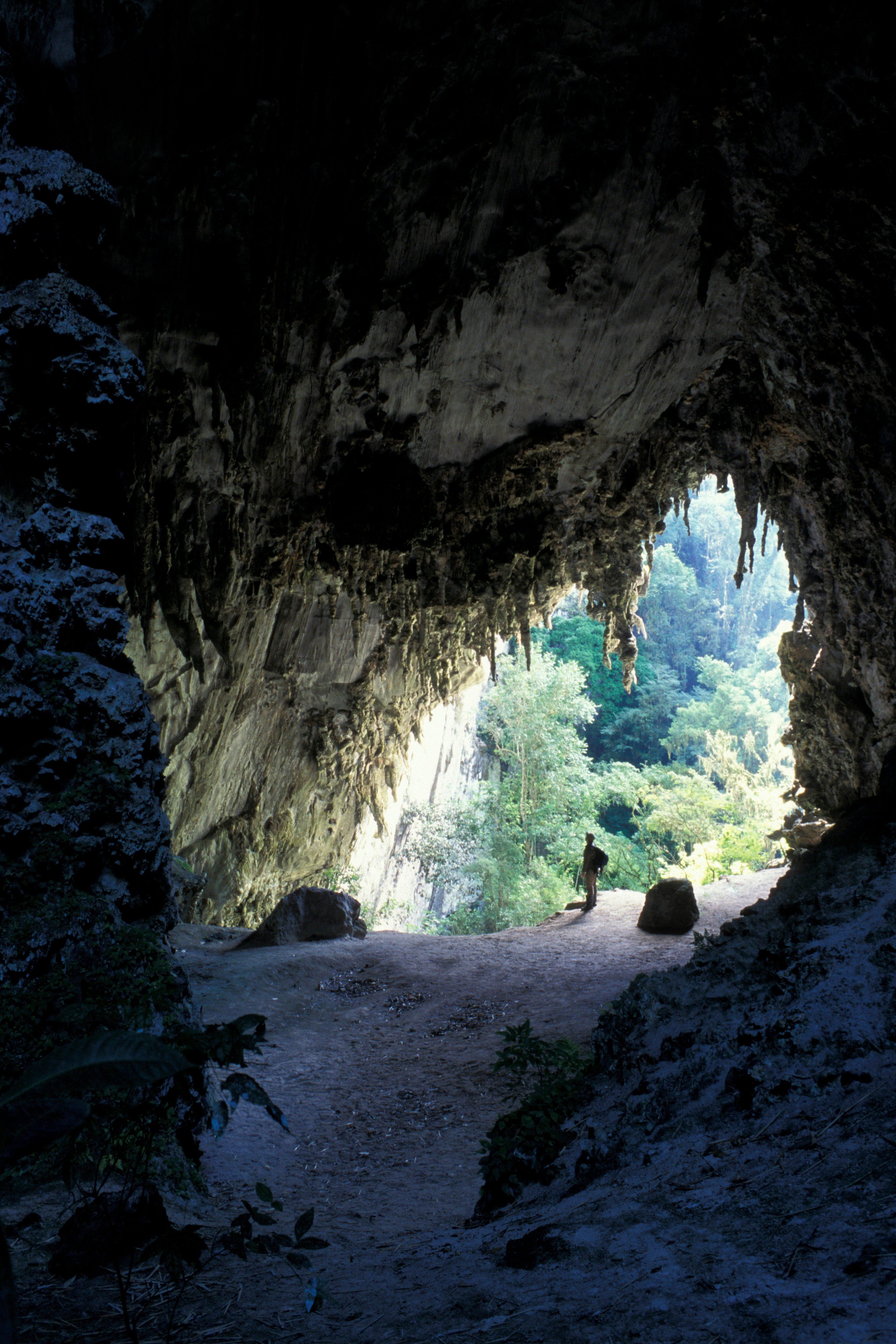 Temimina cave in PETAR - Parque Estadual Turistico do Alto...