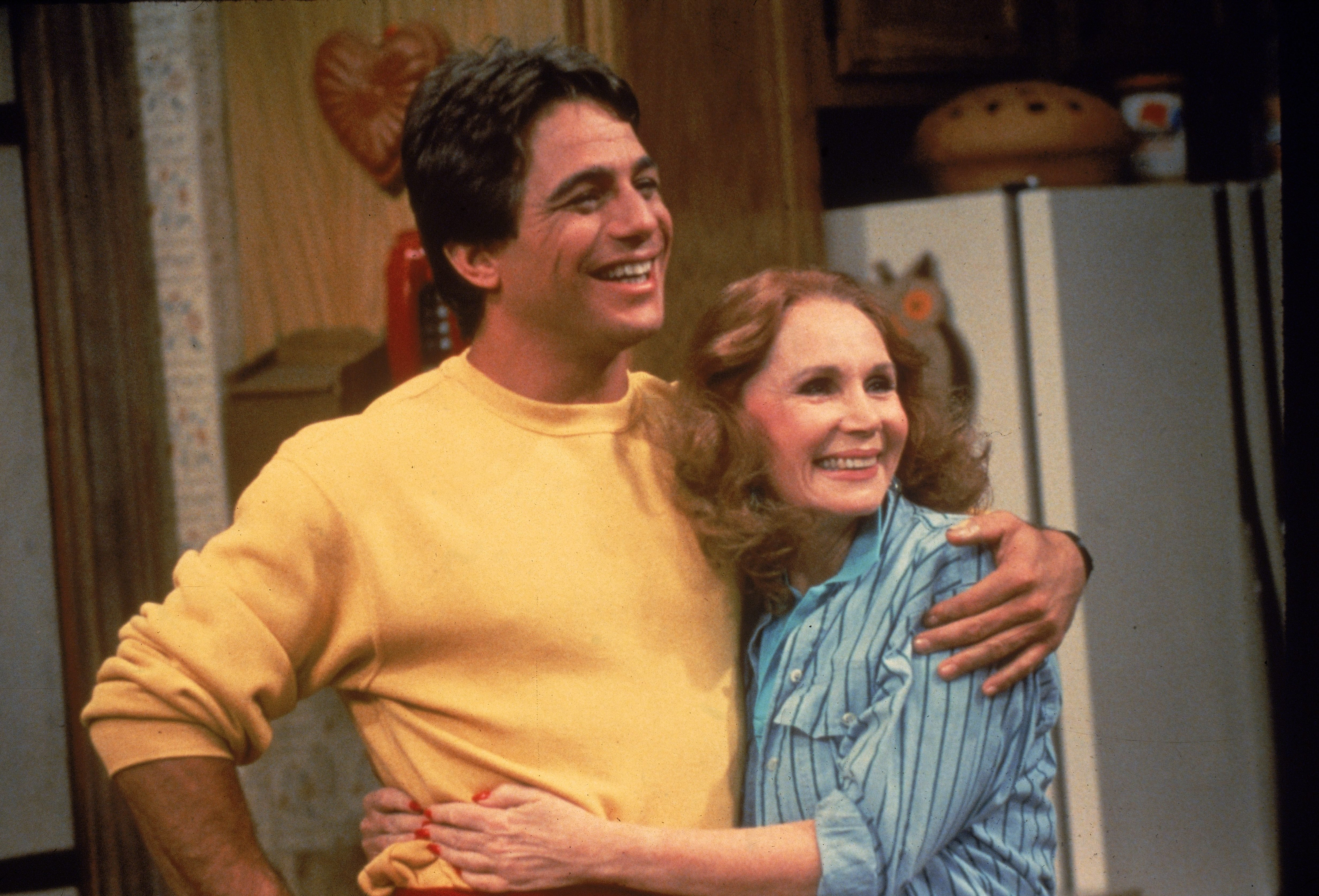 Tony Danza & K. Helmond In 'Who's The Boss'