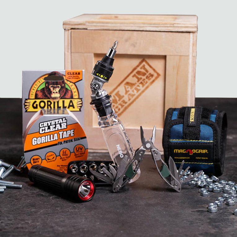 Man Crates Mr. Fix-It Tool Crate