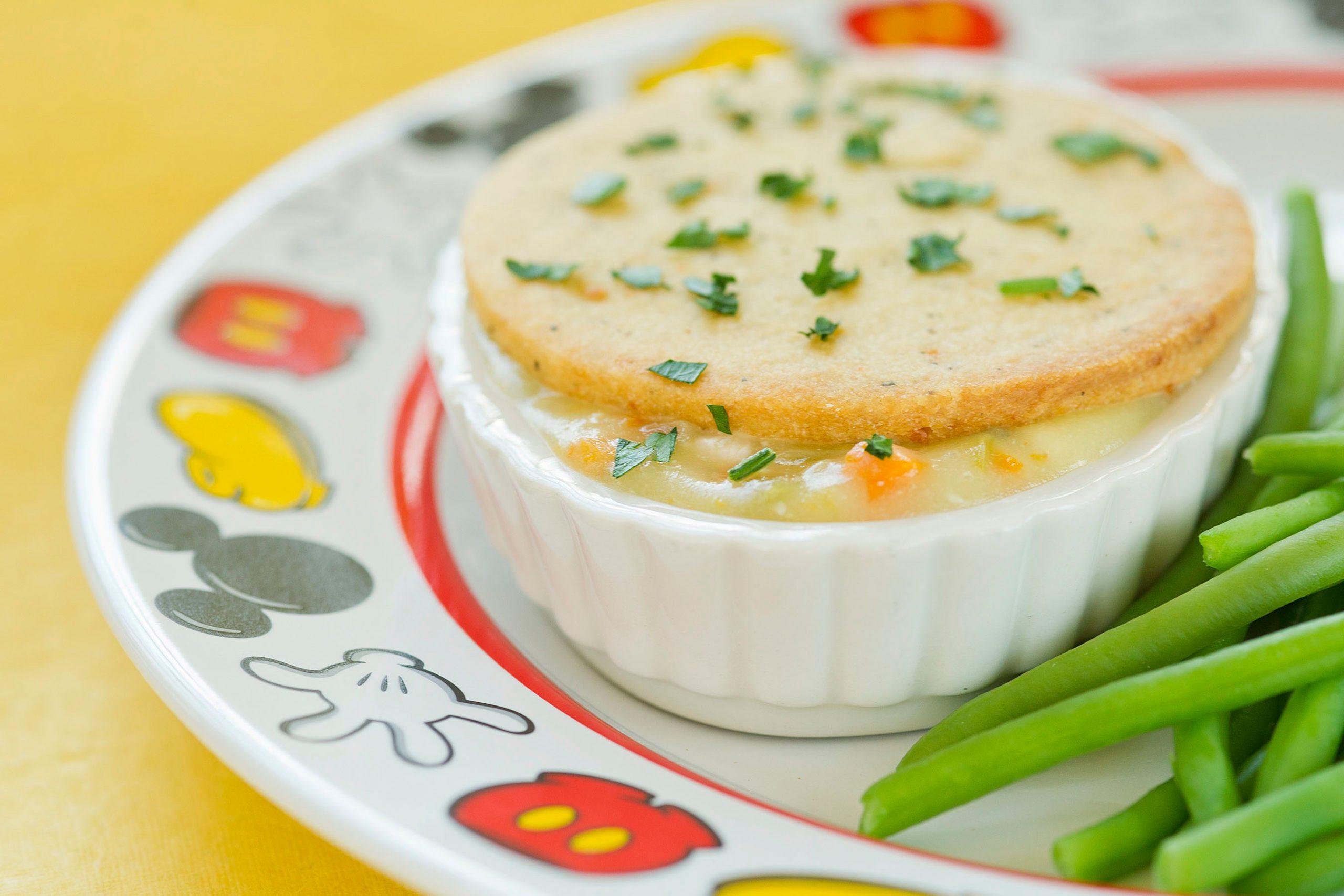 Cinderella's Royal Table Turkey Pot Pie