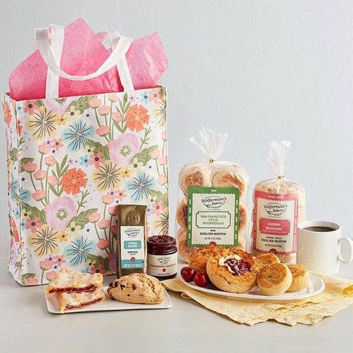 Wolderman's Baker Bright Blooms Tote Gift