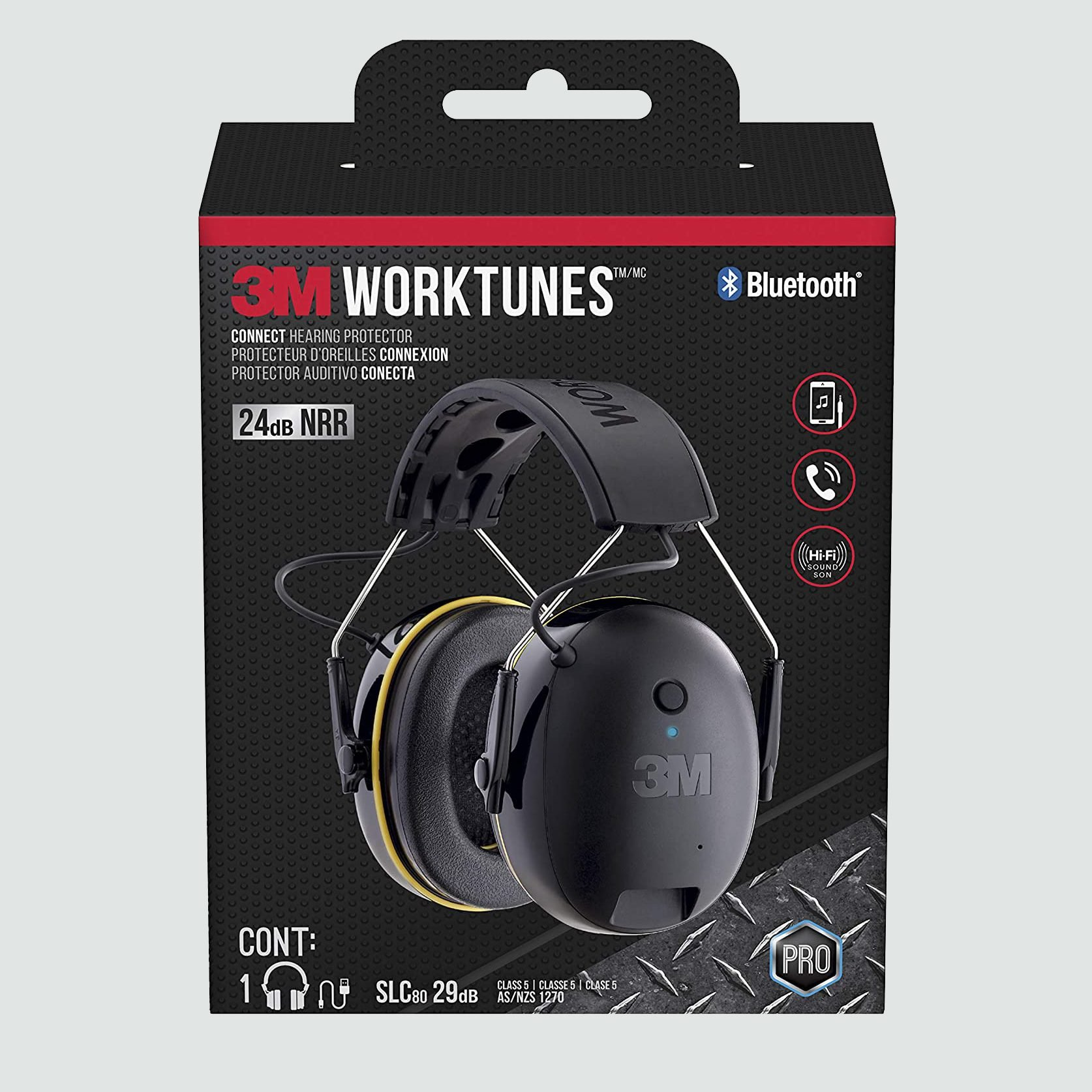 3M Safety WorkTunes Connect Hearing Protector