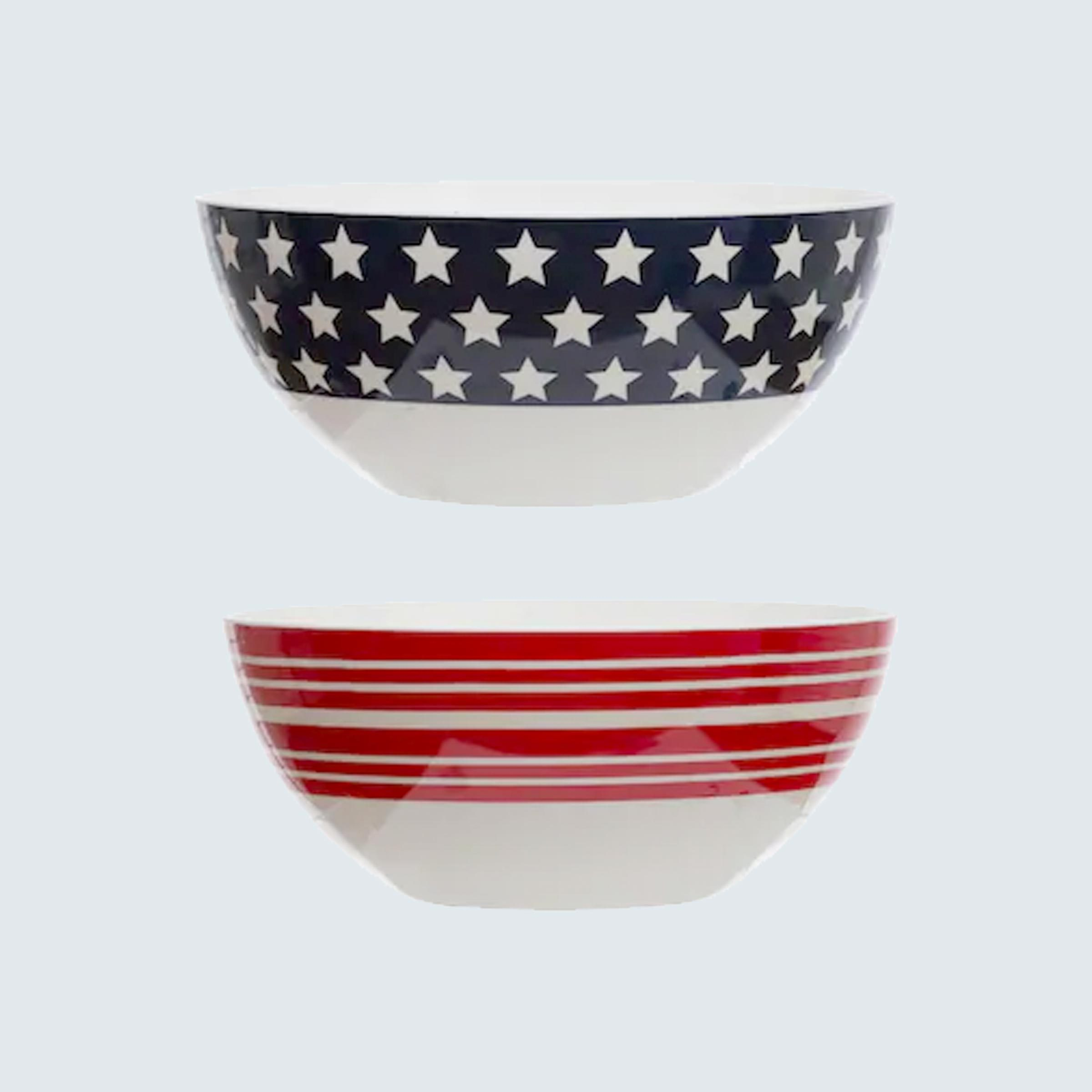 Celebrate It Fourth of July Chip Bowls
