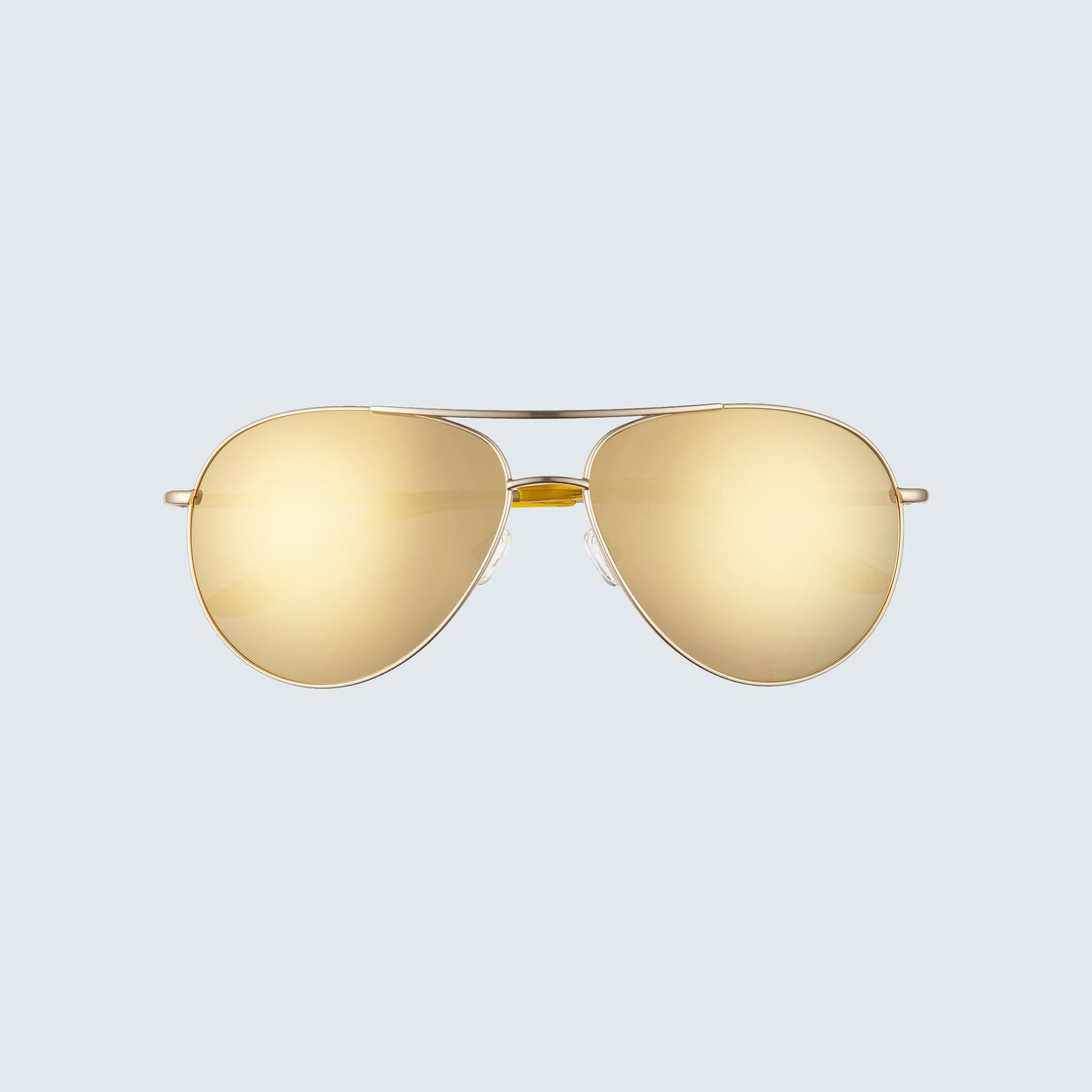 Nike Chance Mirrored Aviator Sunglasses
