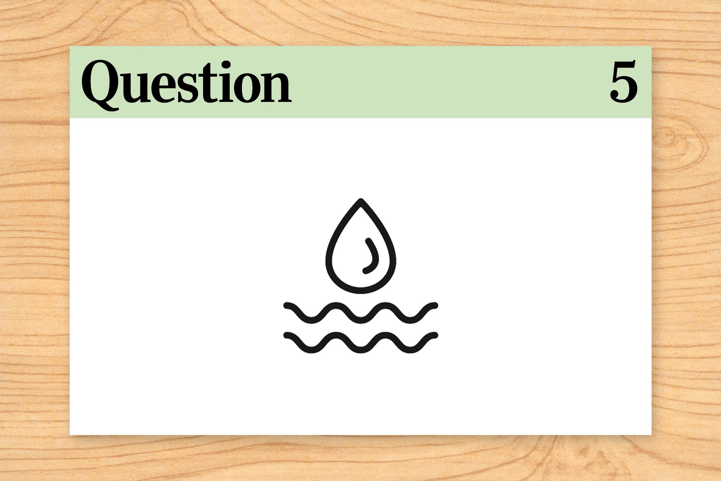 while it dries. question 5.