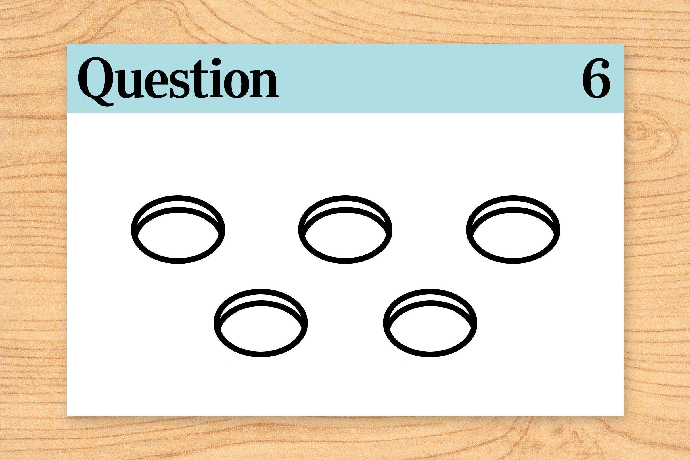 question 6 brain teaser. holes illustration.