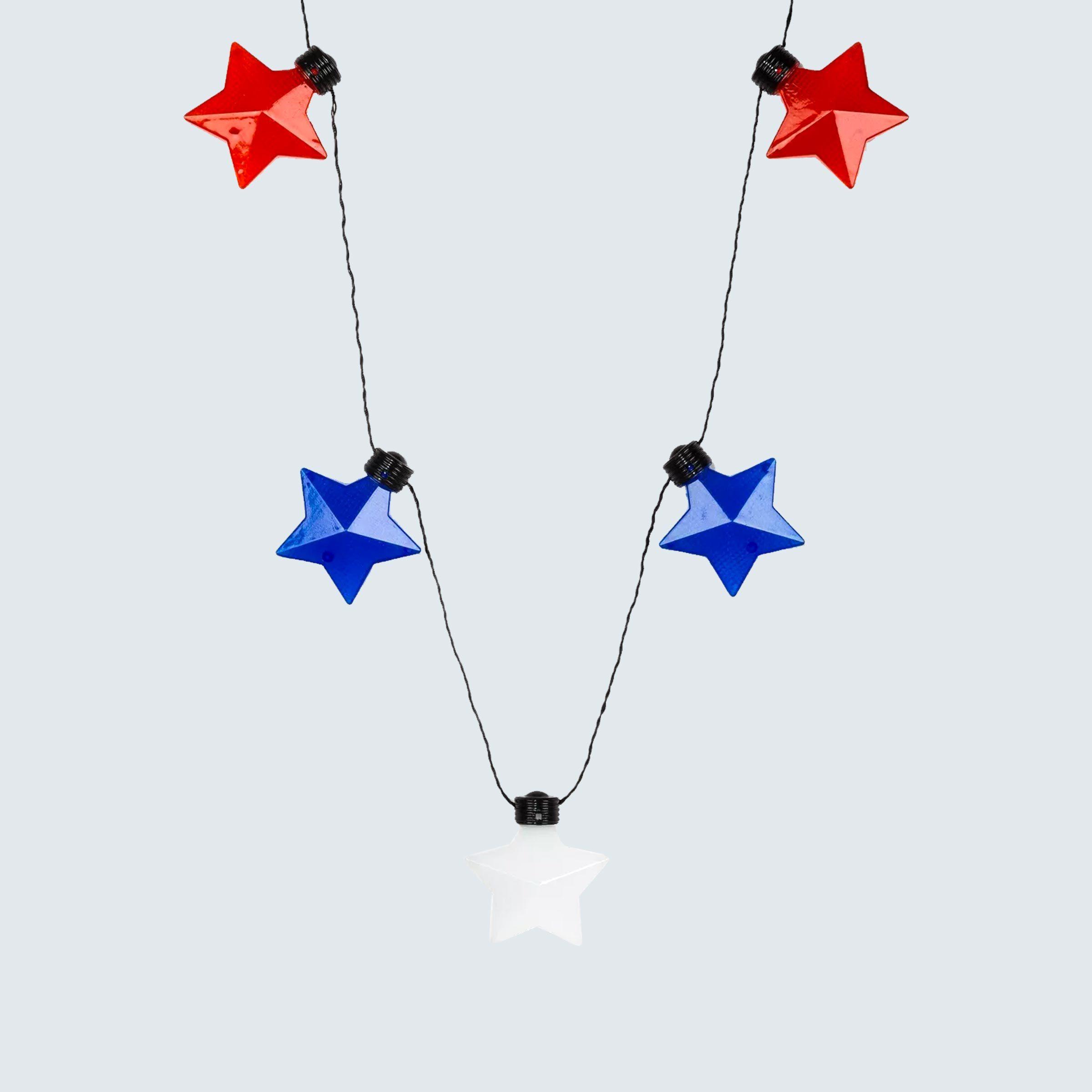 Charlotte Light Up Star Station Necklace