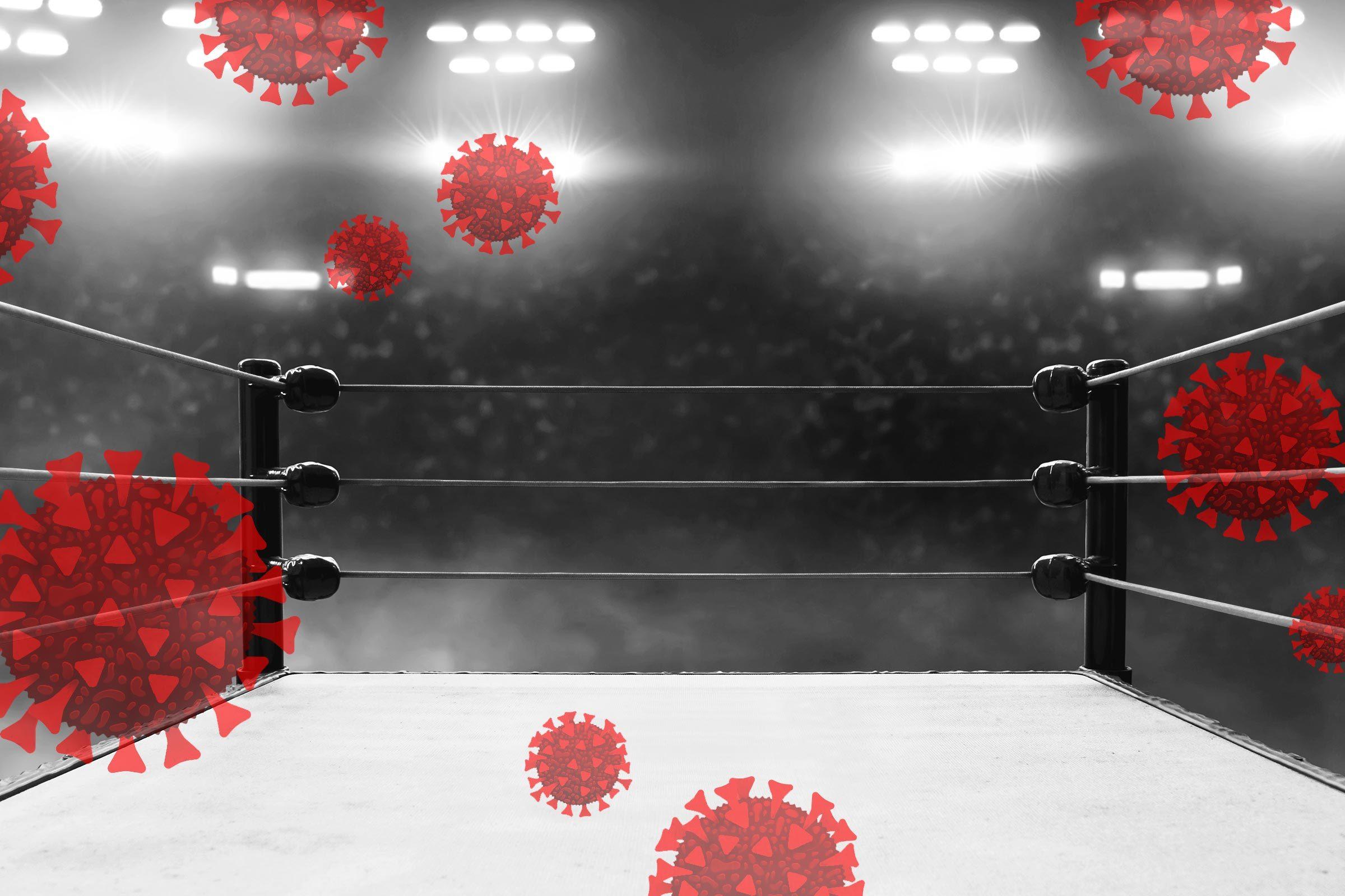 A wrestler grapples with a tough choice