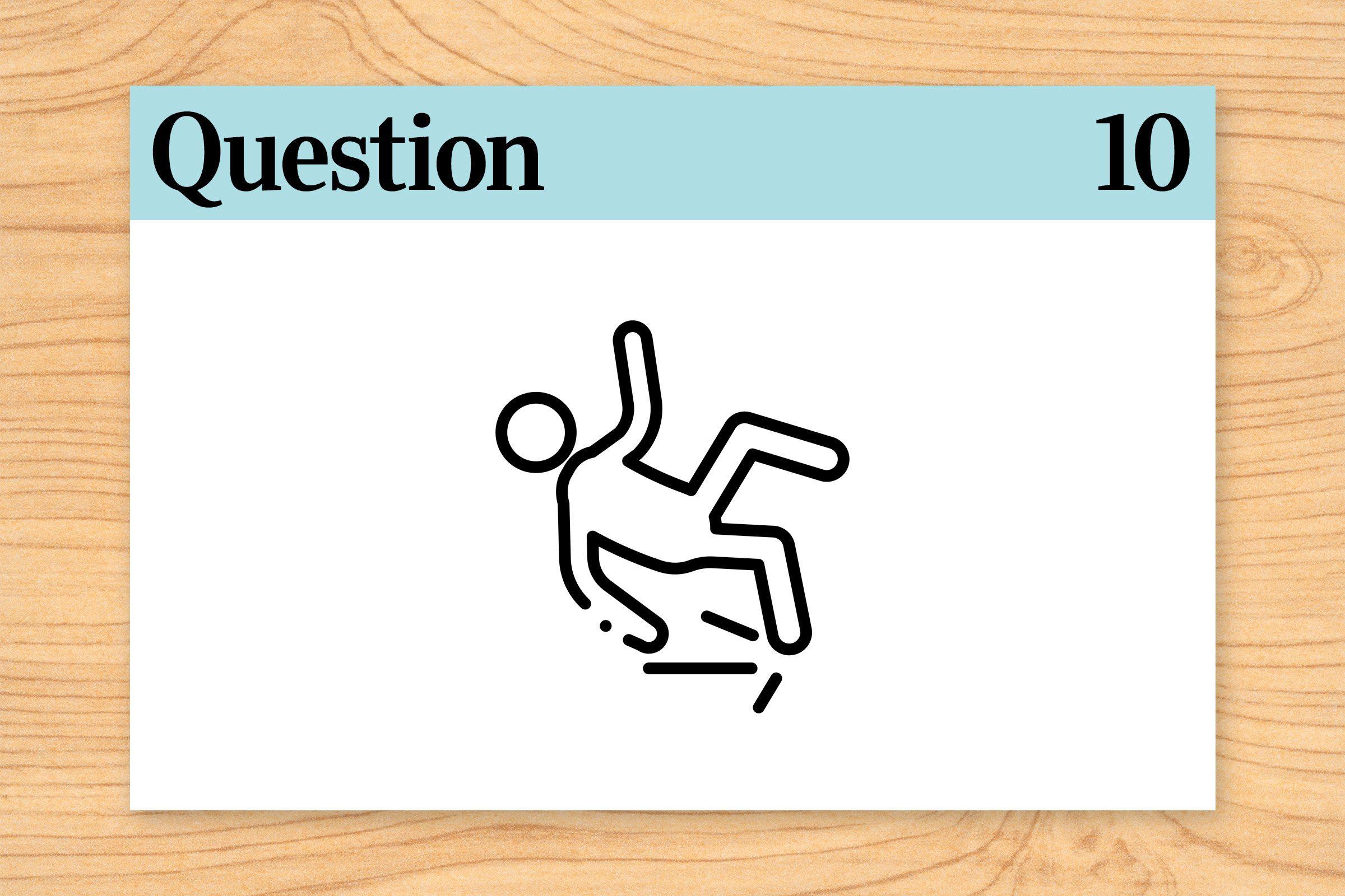 break but not fall, fall but not break illustration. question 10. brain teaser.