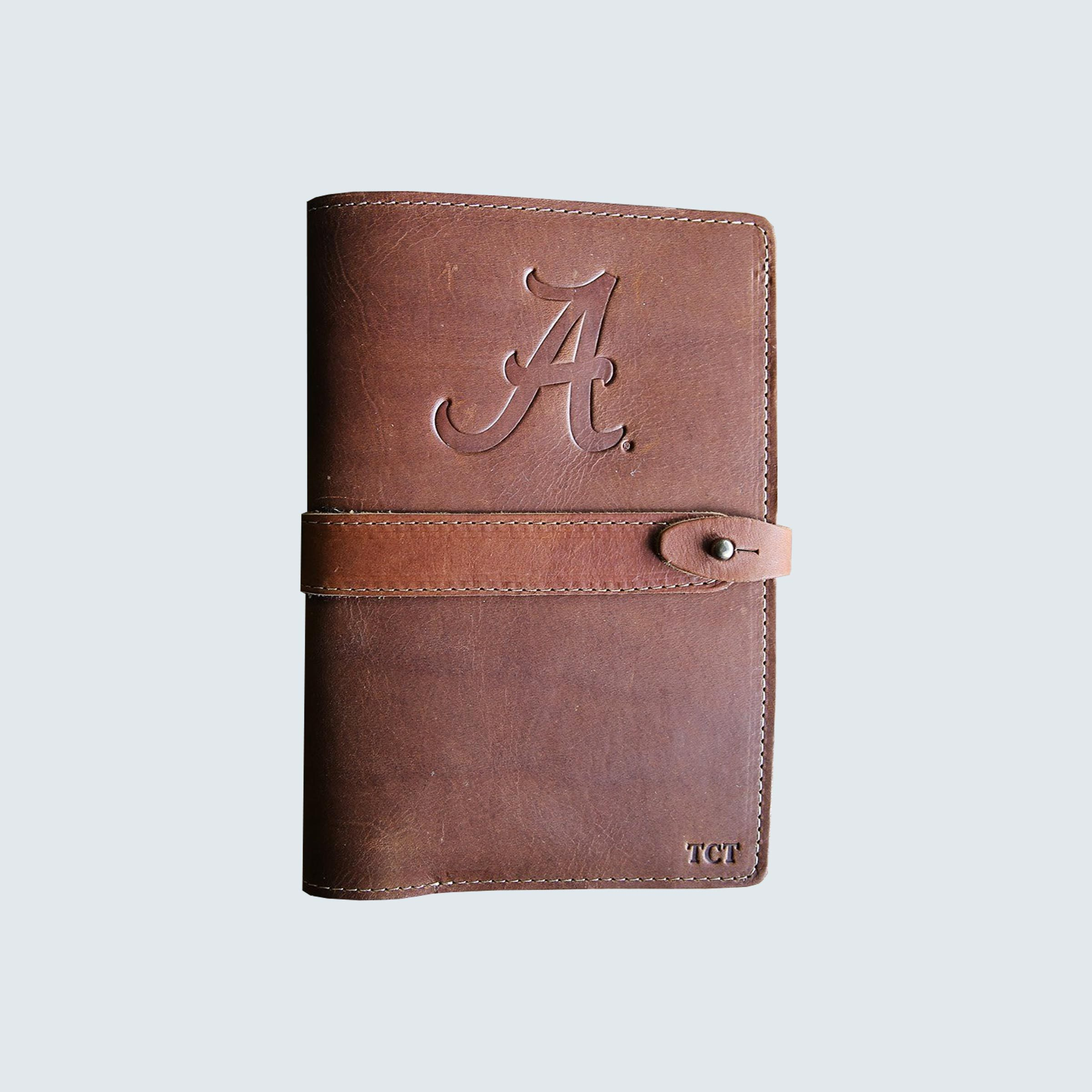 The Officially Licensed Alabama Inventor Personalized Fine Leather Journal