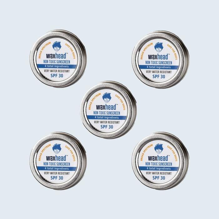 11. Waxhead Sunscreen Travel Tins