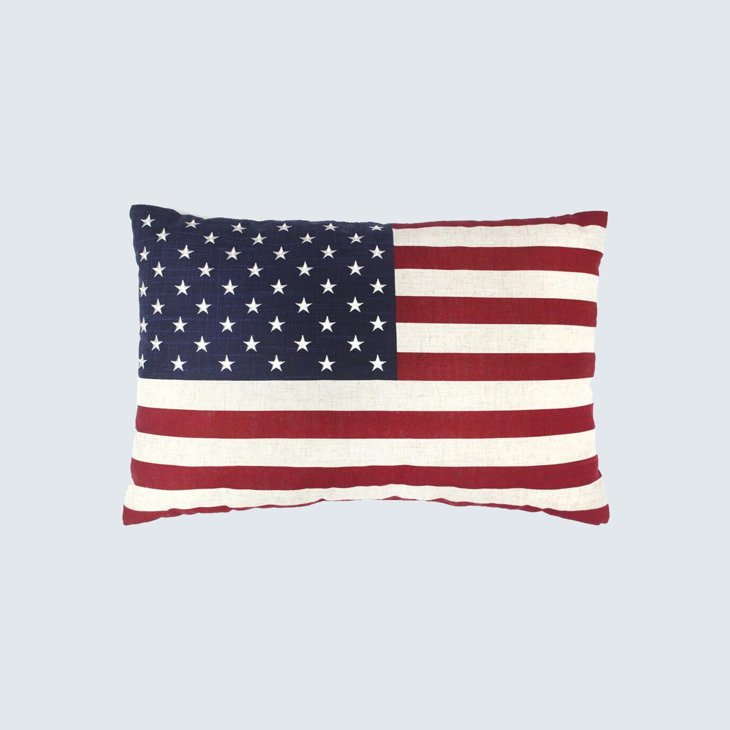 Celebrate Americana Together Oversize Flag Pillow