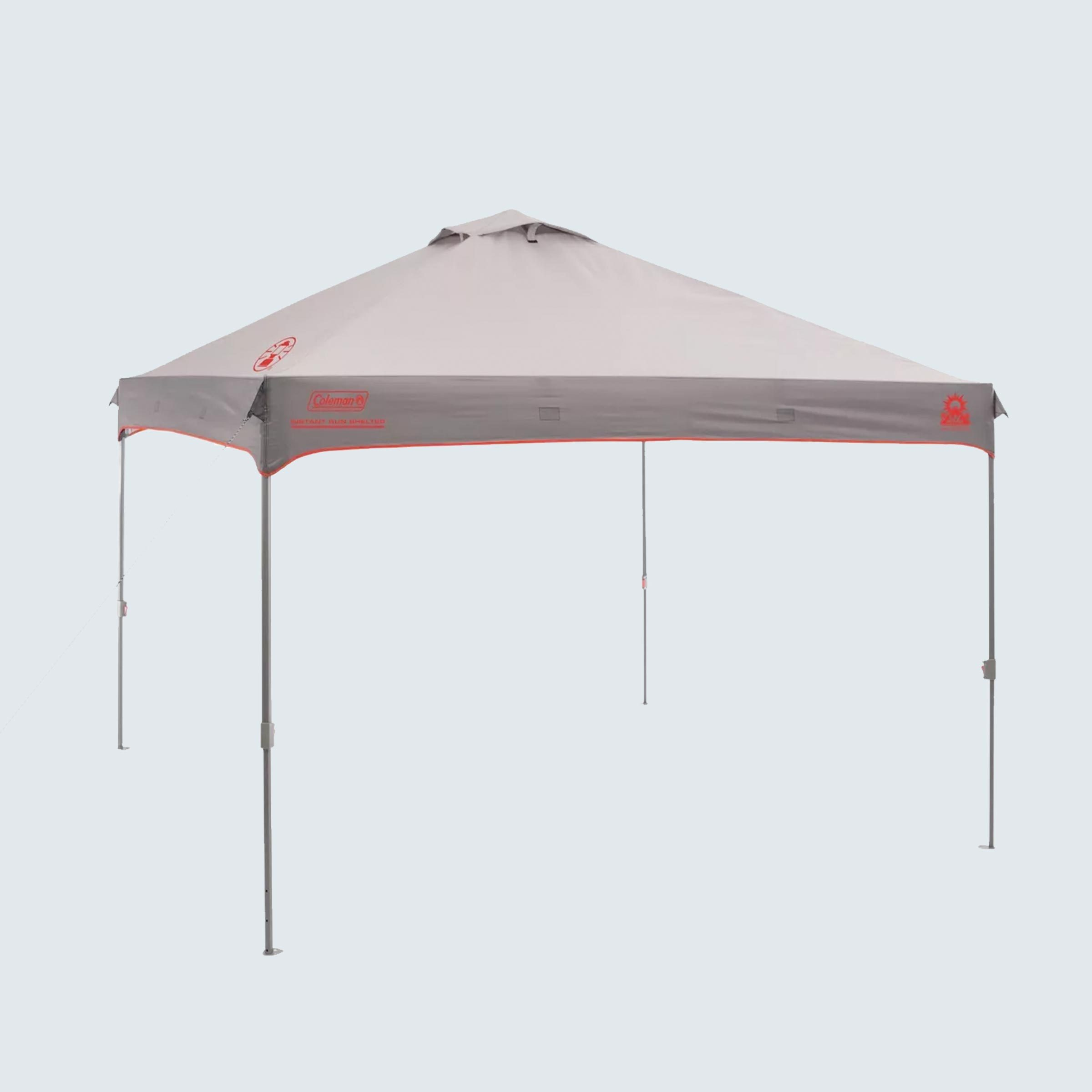 Coleman Instant Canopy with Sunwall