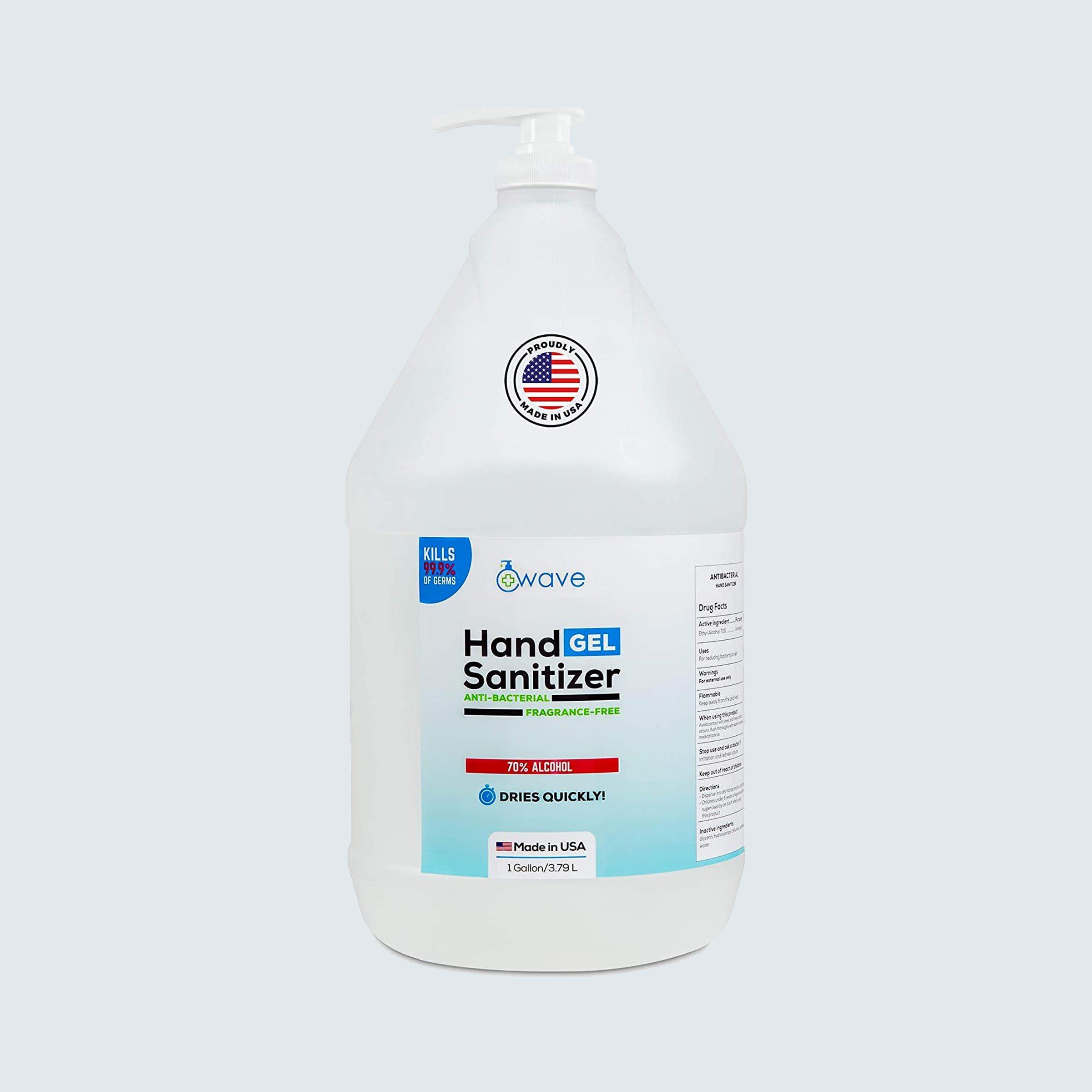 Wave Gel hand sanitizer