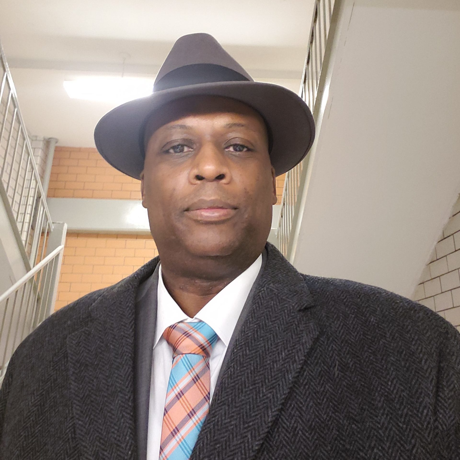 black police officer Courtesy Detective Yuseff Hamm