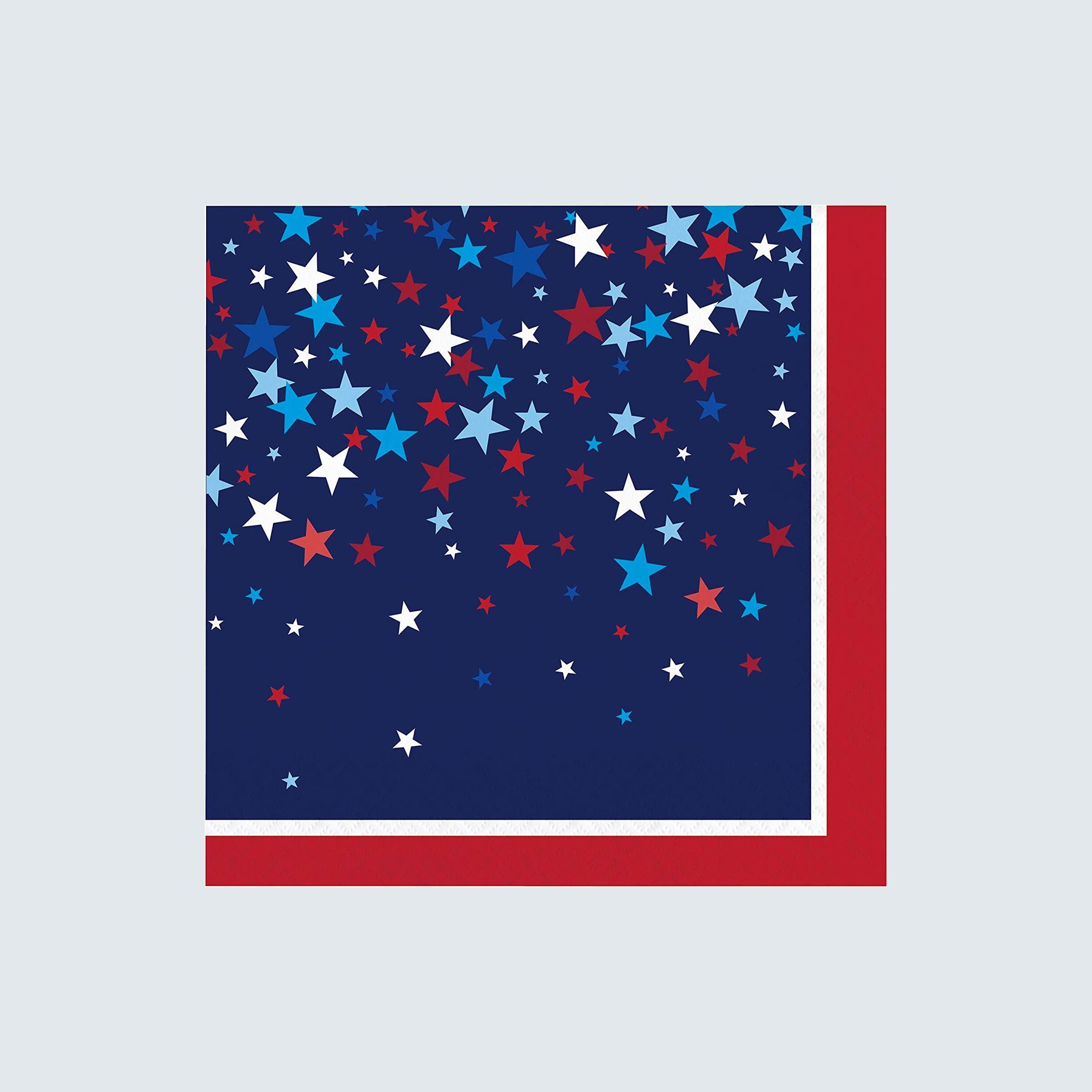 Creative Converting Patriotic Pride Fourth of July Napkins