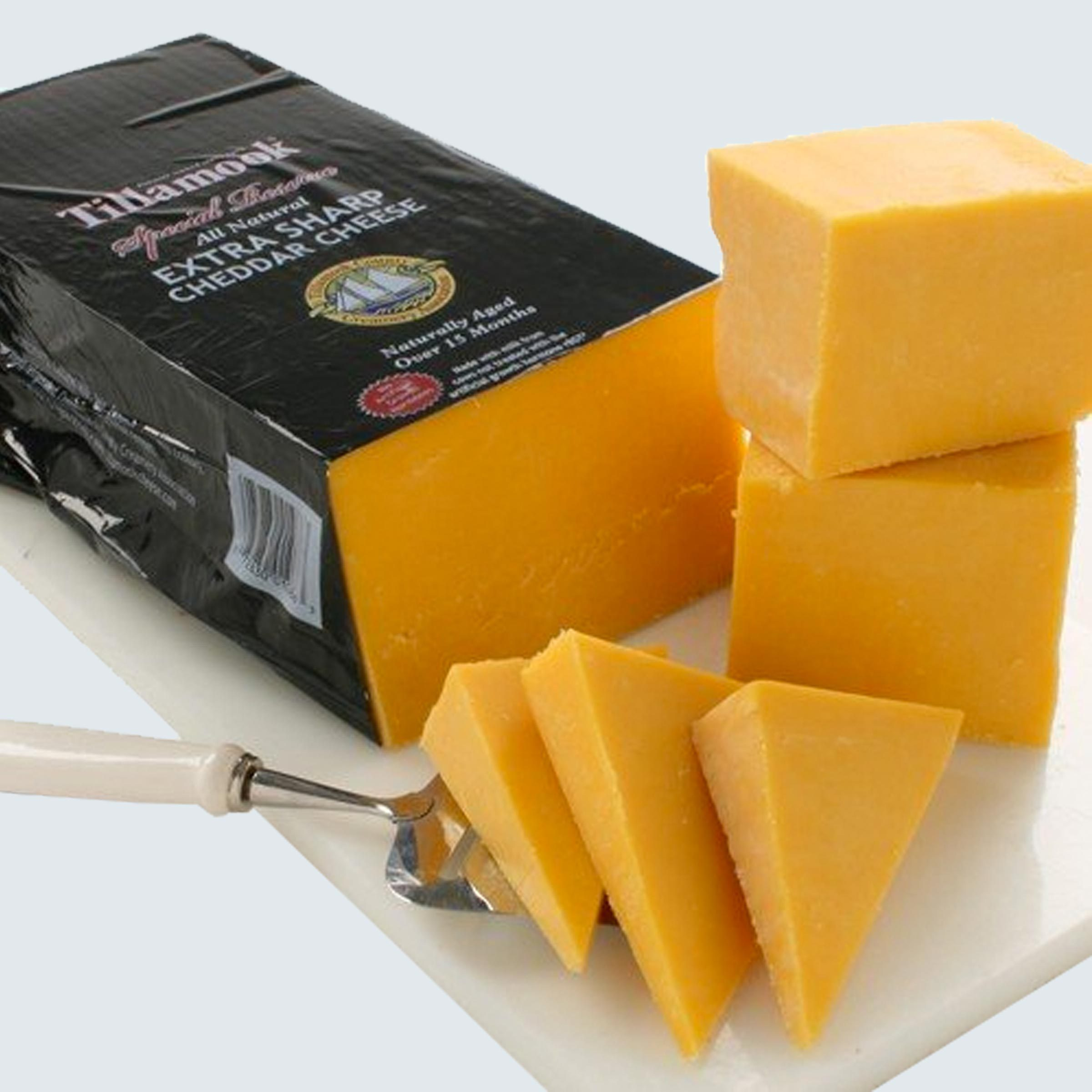 Tillamook Cheddar dairy products