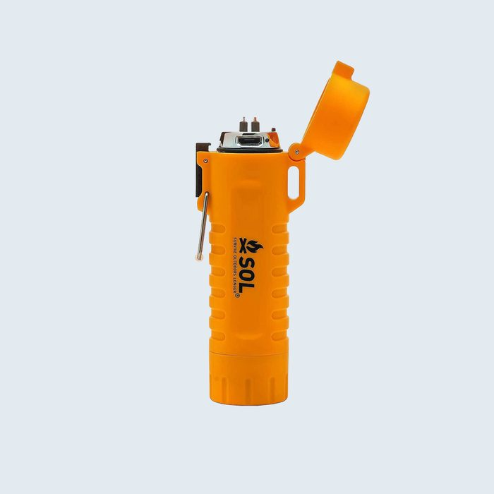 S.o.l. Firelight Fuel Free Rechargeable Lighter