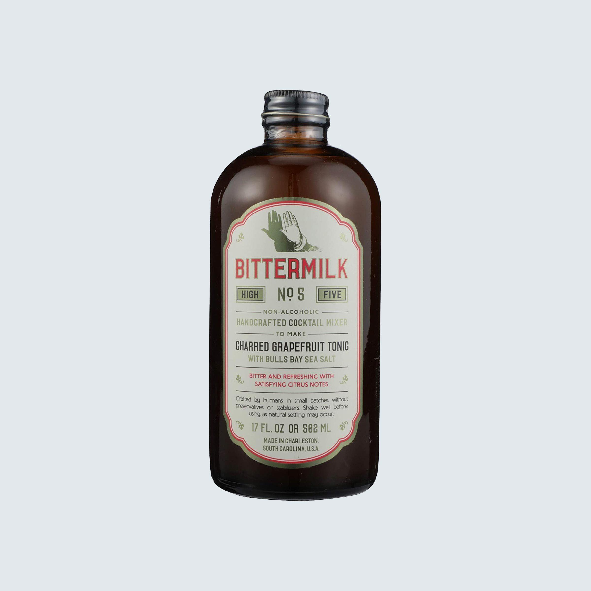Bittermilk Charred Grapefruit Tonic Cocktail Mix