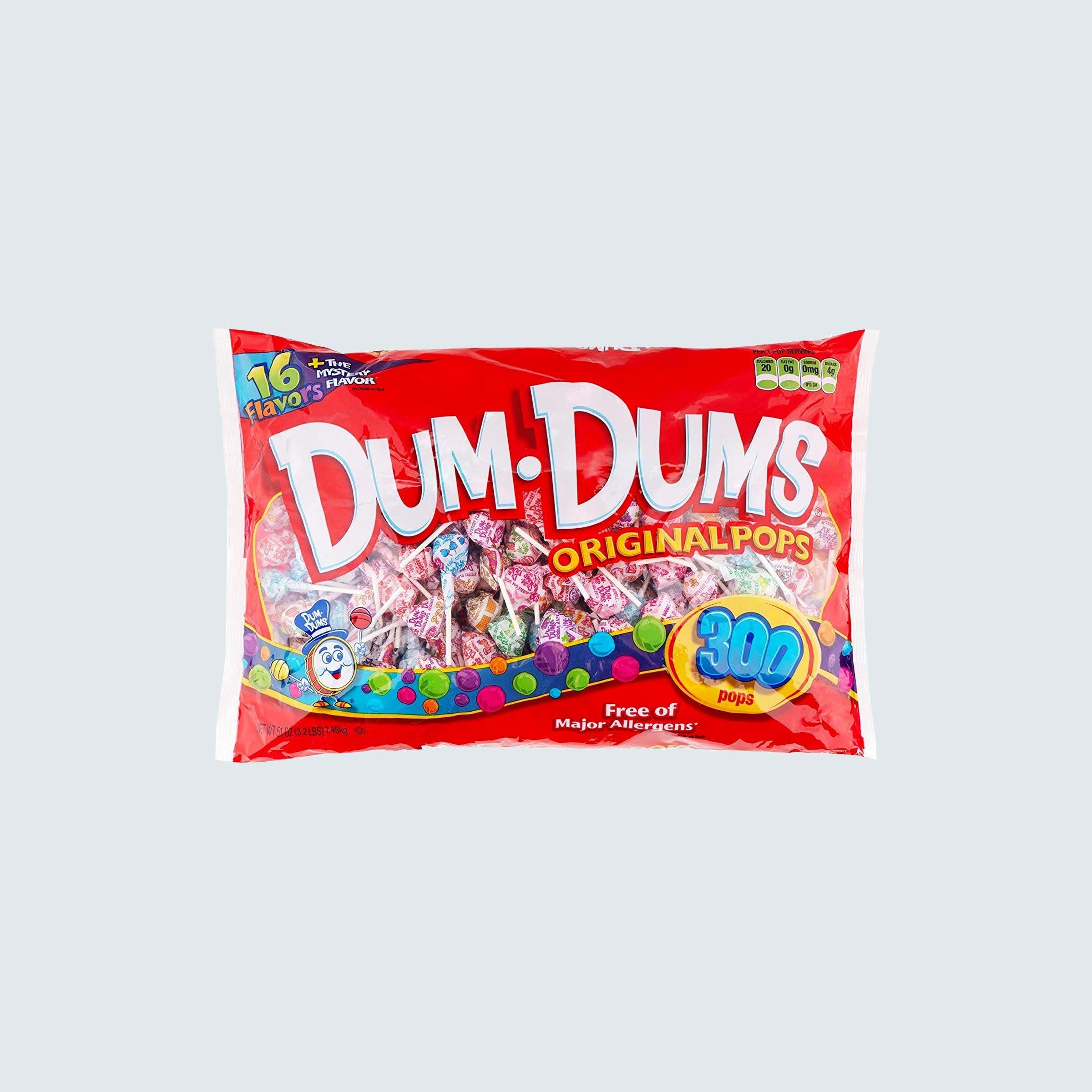 Dum Dums Lollipops