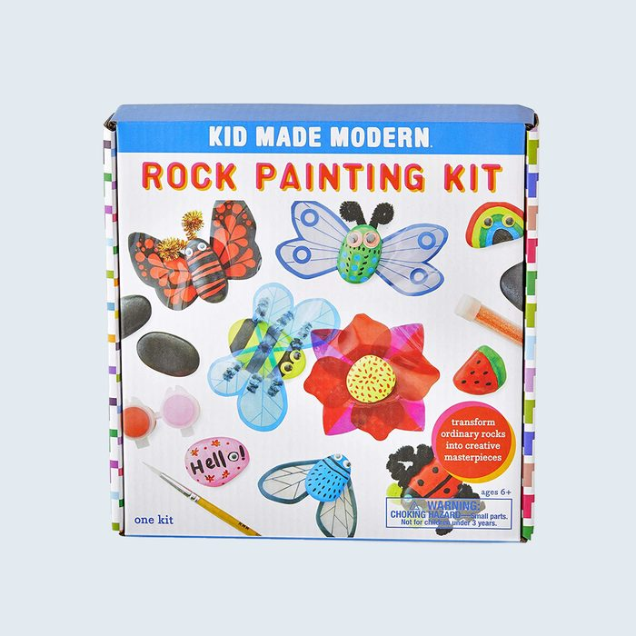 Kid Made Modern Rock Painting And Craft Kit